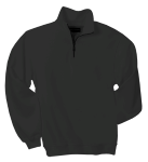 Black 1/4-Zip Sweatshirt